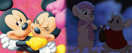 Yikes, that's tough. I'll go with Lady and the Tramp (love both though)! Mickey and Minnie or Bern
