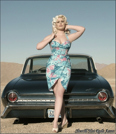 Pin-up model Doris Mayday has the right body but it would be scandalous for Mattel if a pin up girl w