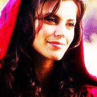 Ruby Red Riding 후드 아이콘