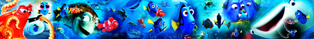 Finding Dory and Finding Nemo Banner