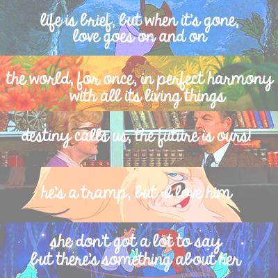 [u]Top 5 迪士尼 爱情 Songs[/u] 1 - 爱情 (Robin Hood) 2 - Can 你 Feel The 爱情 Tonight (The Lion Ki