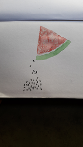 see, I made this! water melon....^^ hope u'll like it!