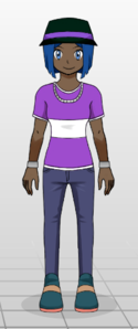 Name: Tatum Age: 14 Gender: Female Physical Description: picture Attire: Typically stylis