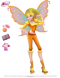 heres my winx girl in her Believix outfit. Her name is Liliana and her power is stars.