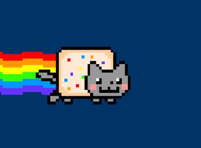 Vanilla Cat: Whee!