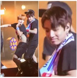 omg his face lmao. JiKook~~~
