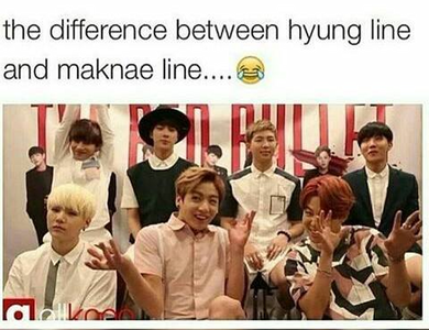 Maknae line <3
