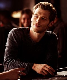 Klaus :) Next: Alaric and Damon drinking