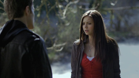 [i]Elena and Stefan in Graveyard [/i]