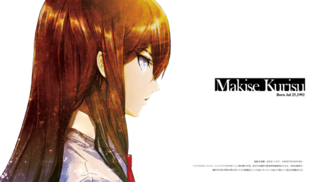 I nominate Kurisu from Steins;Gate!!