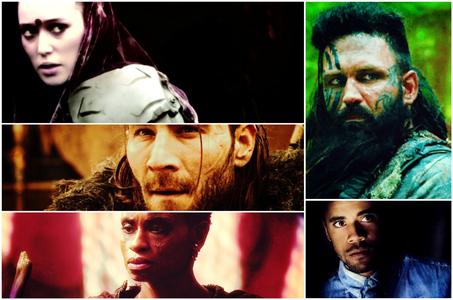 दिन 14: प्रिय Recurring Characters [b]Lexa , Nyko ,Indra ,Nathan Miller[/b] and [b]Roan[/b]