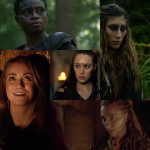 день 14: Избранное minor/recurring character(s)- Lexa, Niylah, Indra, Harper, and Anya.