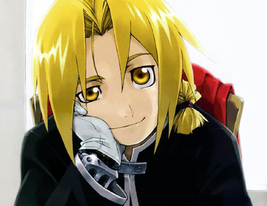 [i]Edward from Fullmetal Alchemist [/i]