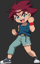 Daichi Sumeragi (not sure of his surname's spelling) from BEYBLADE