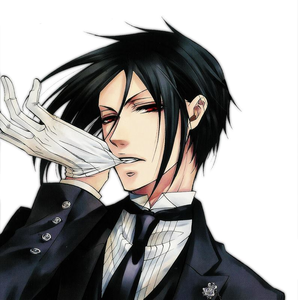 -_-' Friendship I guess. Sebastian from Black Butler [i](Geez who can resist this handsome guy it