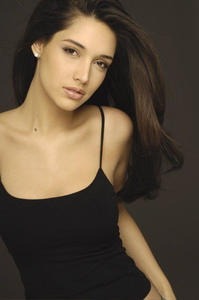 Rapunzel (decided after looking up more pics of her)  Amelia Vega