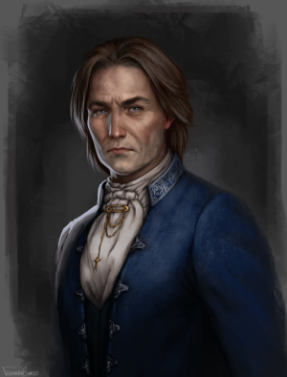 Flynn had tightly held on to Helga when the Inn shook and made his way toward Franziska in case anyth
