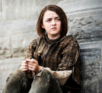 [b]Day 2: inayopendelewa female character [i]Arya Stark[/i][/b]