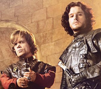 dia 1: favorito male character [b] Tyrion Lannister[/b] and [b] Jon Snow [/b]