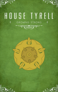 [b]Day 3: inayopendelewa house [i]Tyrell[/i][/b] Stark is a close second.
