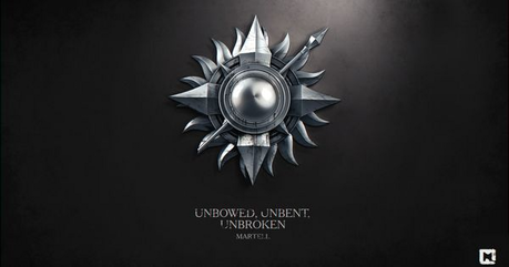 dia 4: favorito house lema House Martell - [b] Unbowed, Unbent, Unbroken [/b]