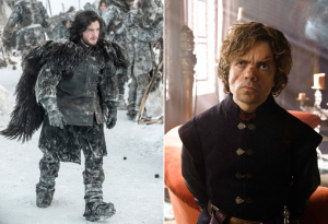 [b] dia 1: favorito Male Character[/b] JON SNOW and TYRION LANNISTER