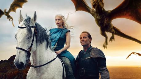 ngày 14: yêu thích ship/pairing [b] Daenerys and Jorah [/b]