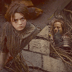 [b]Day 15: inayopendelewa friendship [i]Arya and Jaqen[/i][/b]