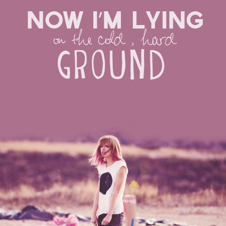 "giorno 2: Fav. Musica Video ""I knew te were trouble"" is currently all over my mind"