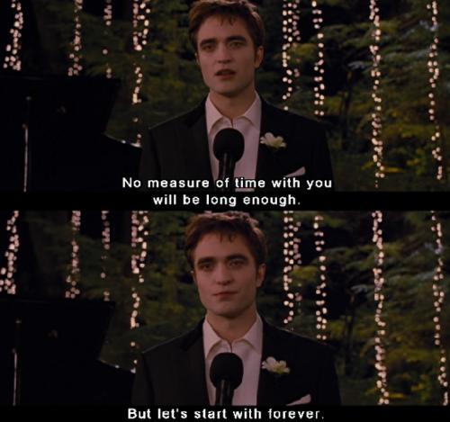 Twilight Wedding Quotes: Twilight Saga 30 Day Challenge