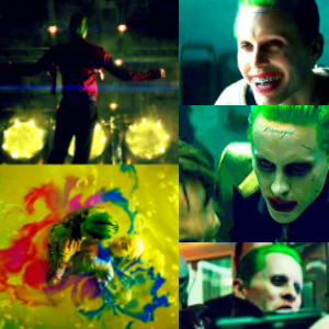 3. Favourite scene? I'm going with the part where the Joker decides to jump in the acid with Harle