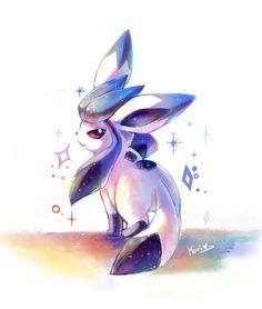 Shiny Glaceon ^-^ I hope it still counts! X3