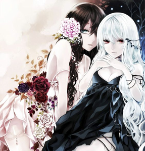 Vampire: Selfish and a bit noble Names: Crystal and Rose Lushian Age: 127(( 19 )) How many سال