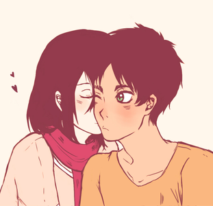 Ship it :D Eren & Mikasa from Attack on Titan. Ship it অথবা not?
