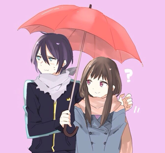 Ship it ~ Yato & Hiyori. Ship it অথবা not?
