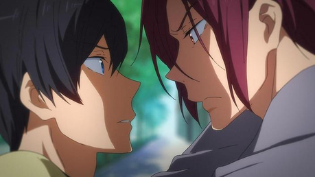 YES OTP Rin x Haru from Free. Ship it یا not?