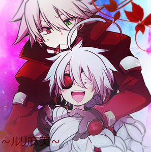 Don't really care about them as a couple. But I'll ship it I guess. Nu-13 and Ragna the Bloodedge