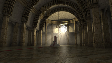 Death walked into the Sanctuary Point. The place where souls appeared after dying before proceeding t