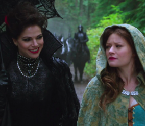Regina Mills for president, Belle French for VP