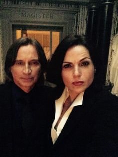 Regina & Gold man. That shit'd be intense.