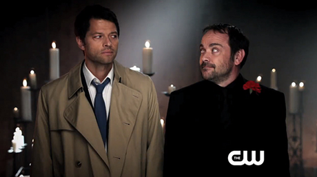 Castiel and Crowley