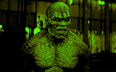 [b]11. Best Killer Croc moment/scene?[/b] He liiives in the sewer, y'all.