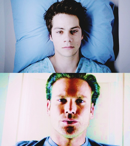 - A scene that makes wewe think of another tv show/movie. [i] Stiles in the MRI [/i](3x18 - Ri