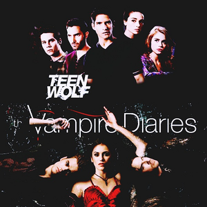- What montrer would make a cool cross-over with TW [i] Vampire Diaries [/i]