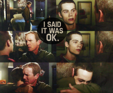 - favori parent/child relationship [i] Sheriff Stilinski [/i]& [i] Stiles[/i]