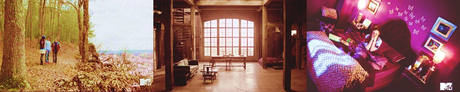- favori location [i]Beacon Hills Preserve [/i] , [i]Derek's loft [/i] and [i]Lydia's roo