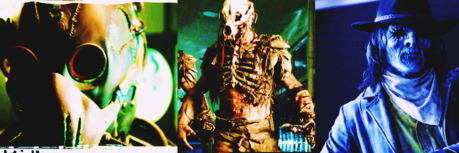 - Scariest creature All villains are scary . [i] Dread Doctors [/i] , [i] Berserkers [/i]