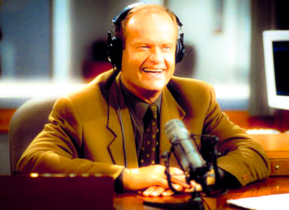 [b]7. Character that appeared on multiple shows [/b] The legendary Frasier guindaste who appeared on not