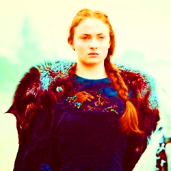 [b]4. inayopendelewa Child au Teen Character[/b] Sansa Stark from Game Of Thrones.