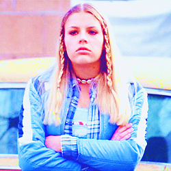 [b]3. A character that reminds you of someone you know[/b] Kim Kelly, Freaks & Geeks. And a Millie,